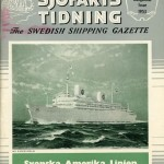 Journal Svensk Sjöfartstidning Kungsholm Issue 1953