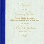 Book Cruise Memories 1961 Gripsholm