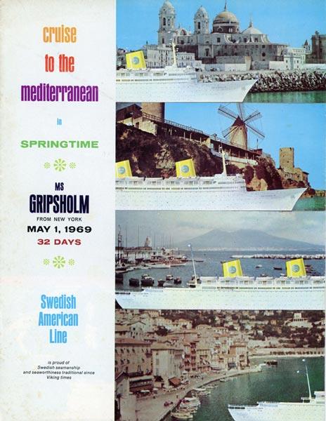 Broschyr Kryssning 1969 05 01