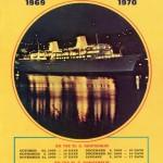 Broschyr Kryssning 1969-1970