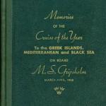 Book Cruise Memories 1962 Gripsholm (1)