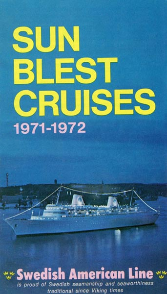 Broschyr Kryssning 1971-1972