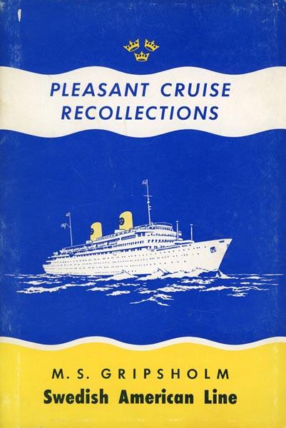 Book Cruise Memories 1963 Gripsholm