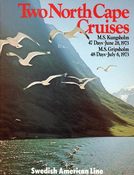Broschyr Kryssning 1973 06 28