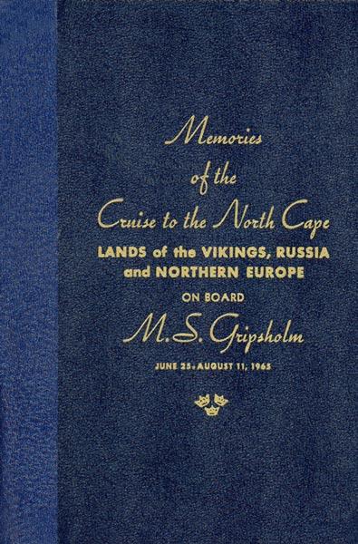 Book Cruise Memories 1965 Gripsholm (2)