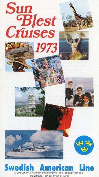 Broschyr Kryssning 1973