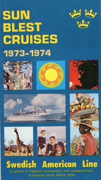 Broschyr Kryssning 1973-1974