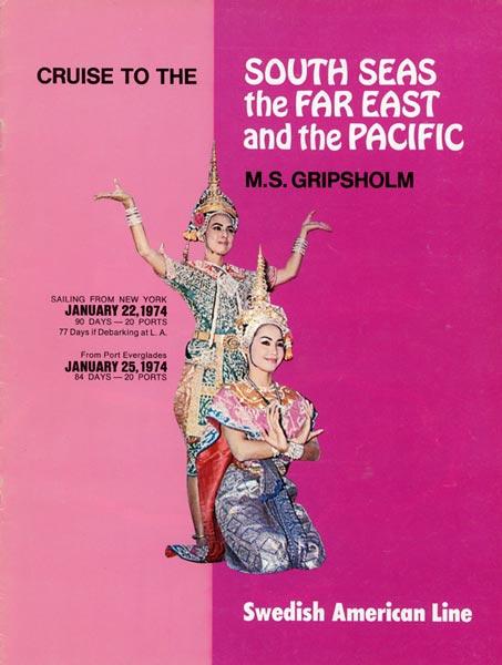 Broschyr Kryssning 1974 01 22