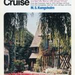Broschyr Kryssning 1974 04 08