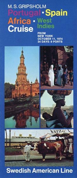 Broschyr Kryssning 1974 10 11 (1)