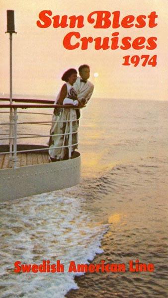 Broschyr Kryssning 1974