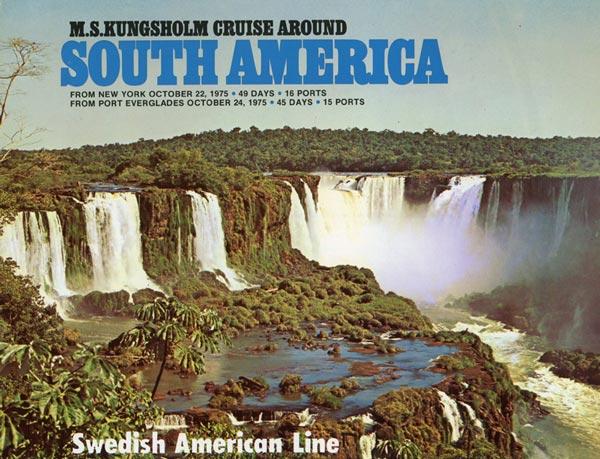 Broschyr Kryssning 1975 10 22