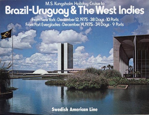 Broschyr Kryssning 1975 12 12