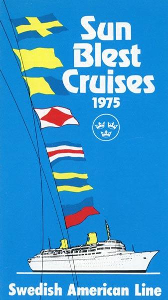 Broschyr Kryssning 1975