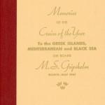Book Cruise Memories 1967 Gripsholm (2)