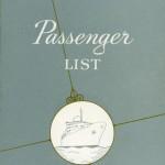 Passagerarlista Kryssning 601220 West Indies