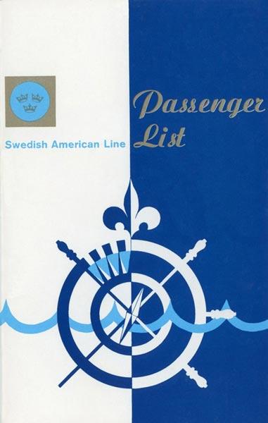 Passagerarlista Kryssning 721016 South Pasific