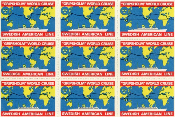 Stamps Gripsholm World cruise