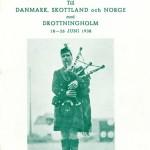 Passagerarlista Kryssning Danmar Skottland Norge 1938