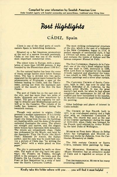 Port Highlights Cadiz Spain