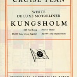 Brochure Cruise plan Kungsholm