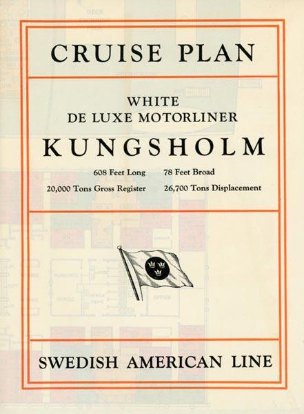 Brochure Cruise plan Kungsholm