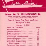 Brochure Information for cruise members 1968 0106