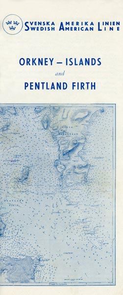 Brochure Information Orkney Islands and Pentland Firth 1949