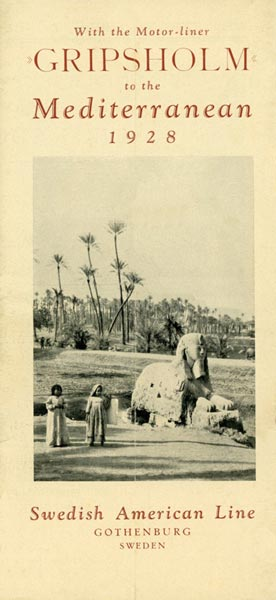 Brochure Cruise 1928 02 01