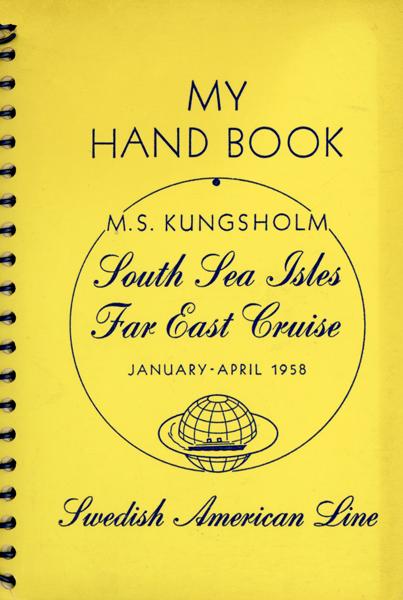 Hand book cruise 1958