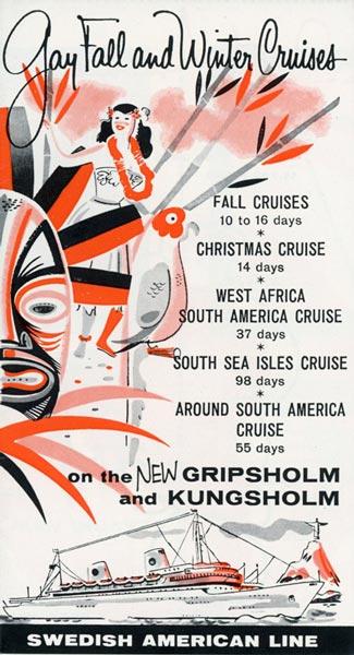 Brochure Cruise 1957