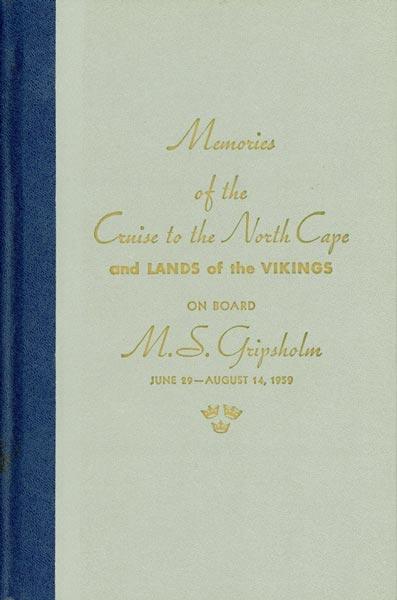 Book Cruise Memories 1959 Gripsholm