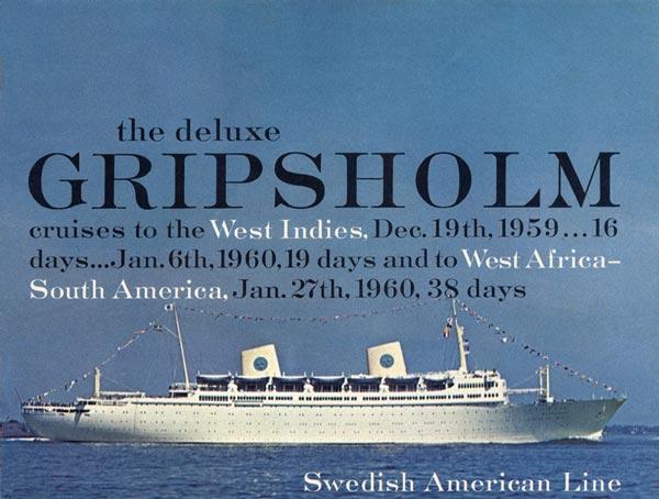 Brochure Cruise 1959 12 19