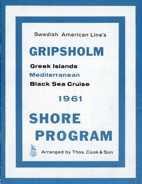 Brochure Cruise 1961