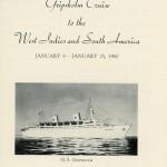 Book Cruise Memories 1960 Gripsholm (1)