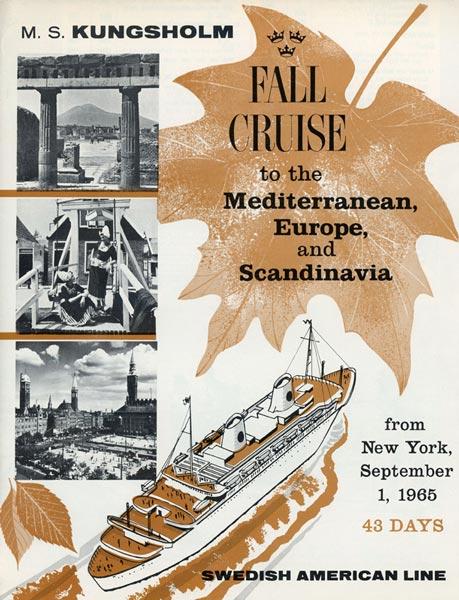 Broschyr Kryssning 1965 09 01