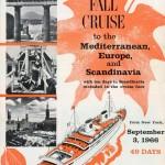 Broschyr Kryssning 1966 09 03