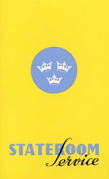Brochure Stateroom service 1963