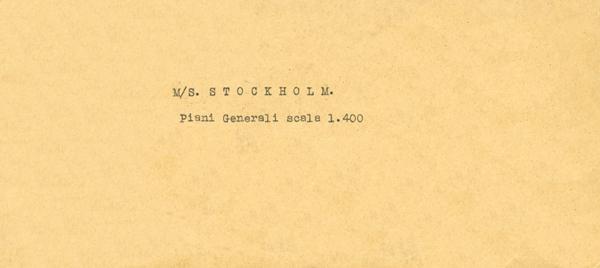 Drawings Stockholm 1941