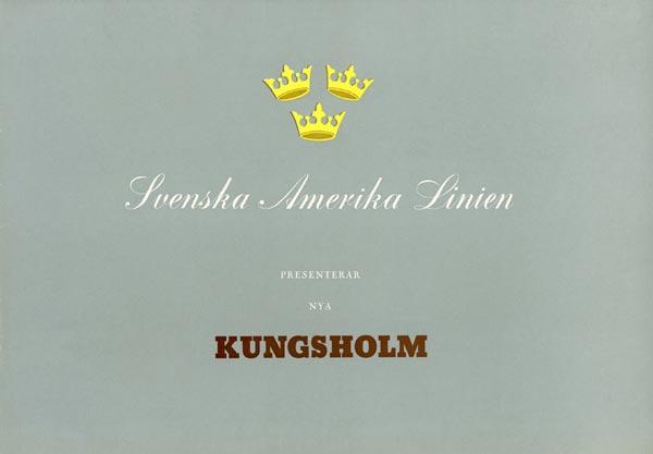 Brochure Nya Kungsholm 1953