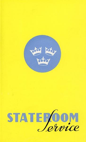 Brochure Stateroom service 1956