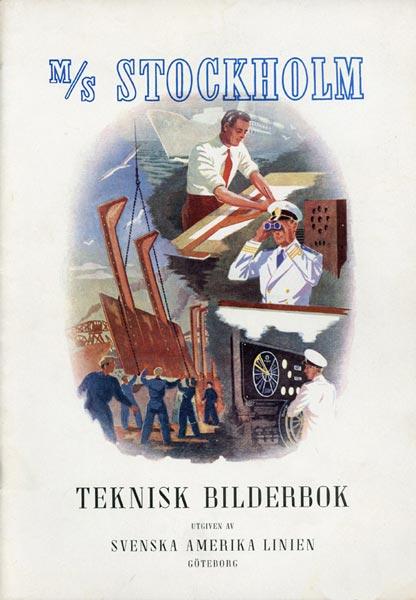 Brochure Stockholm Teknisk bilderbok 1947