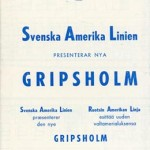 Deck plans Gripsholm 1956
