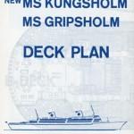 Deck plan Kungsholm Gripsholm 1966