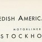 Deck plan Stockholm 1947