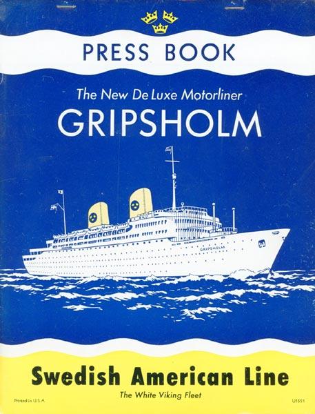 Gripsholm Pressbook 1956 description