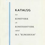 Catalog Artwork and Crafts Kungsholm 1953
