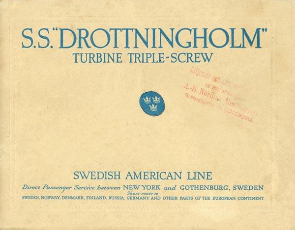 Brochure Drottningholm 1921