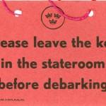 Passenger information debarking