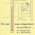 Passenger information Room temperature